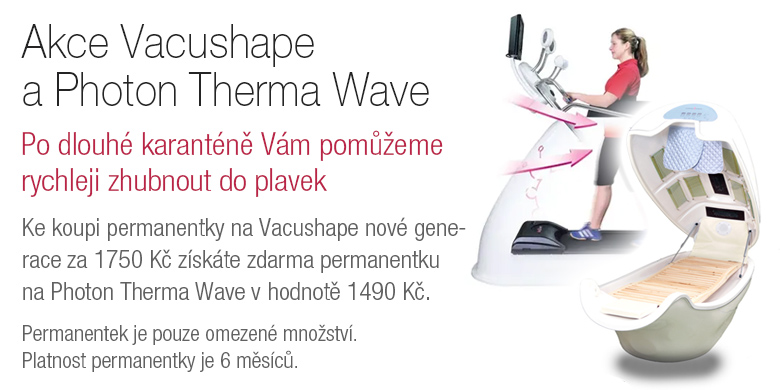 Akce vacushape a Photon Therma Wave