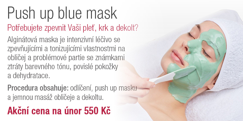 Push up blue mask